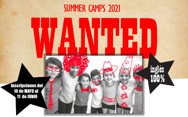 Summer Camps 2020 - WANTED